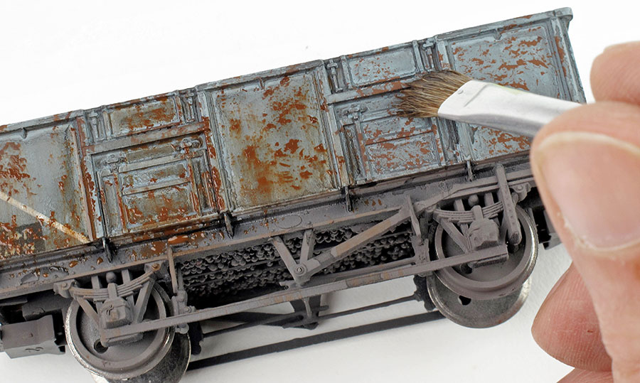 How to rust your wagons