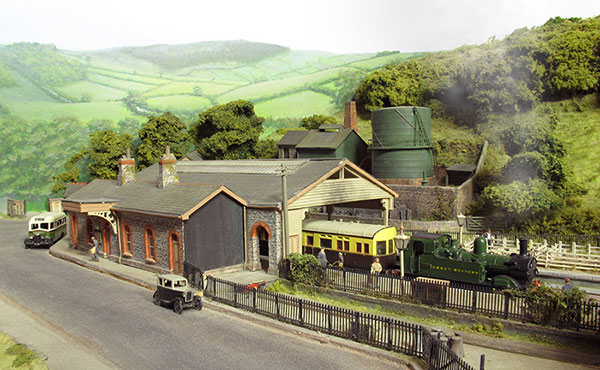 Ashburton in N gauge