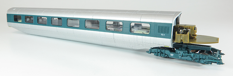 Rapido Trains APT-E model