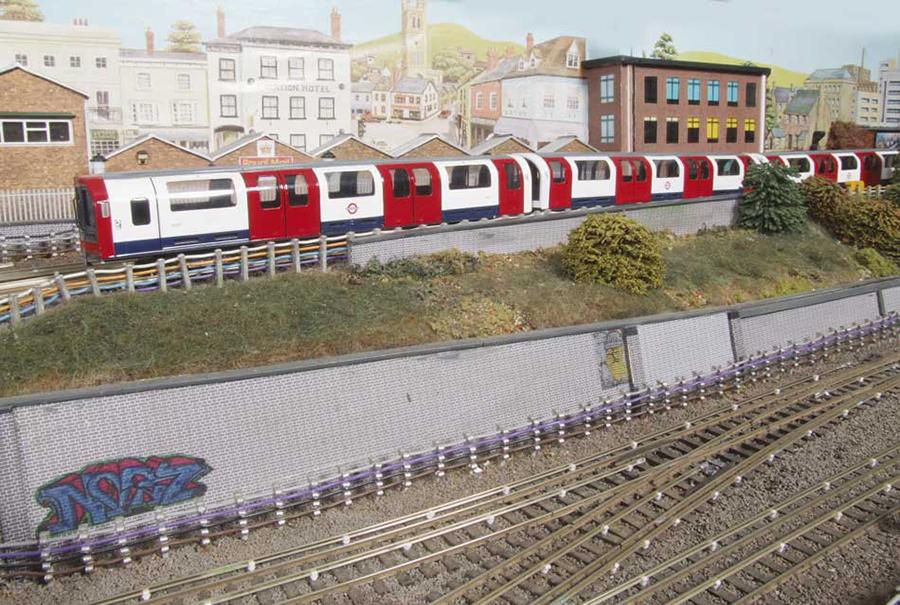 Abbey Road OO model railway Underground