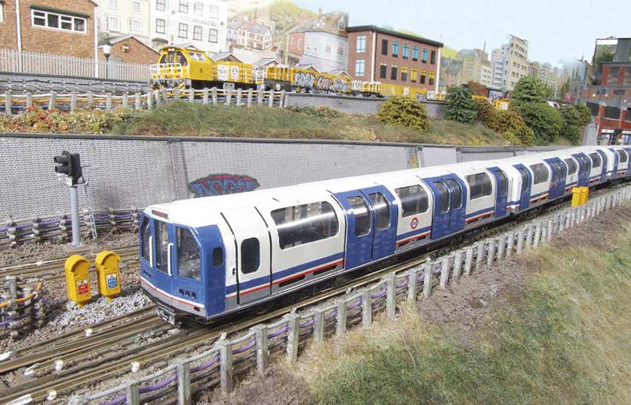Abbey Road 1992 Waterloo and City stock Abbey Road OO gauge model railway Underground