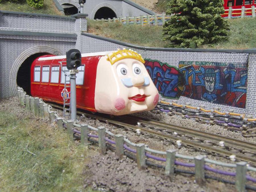 Abbey Road Underground Ernie model railway