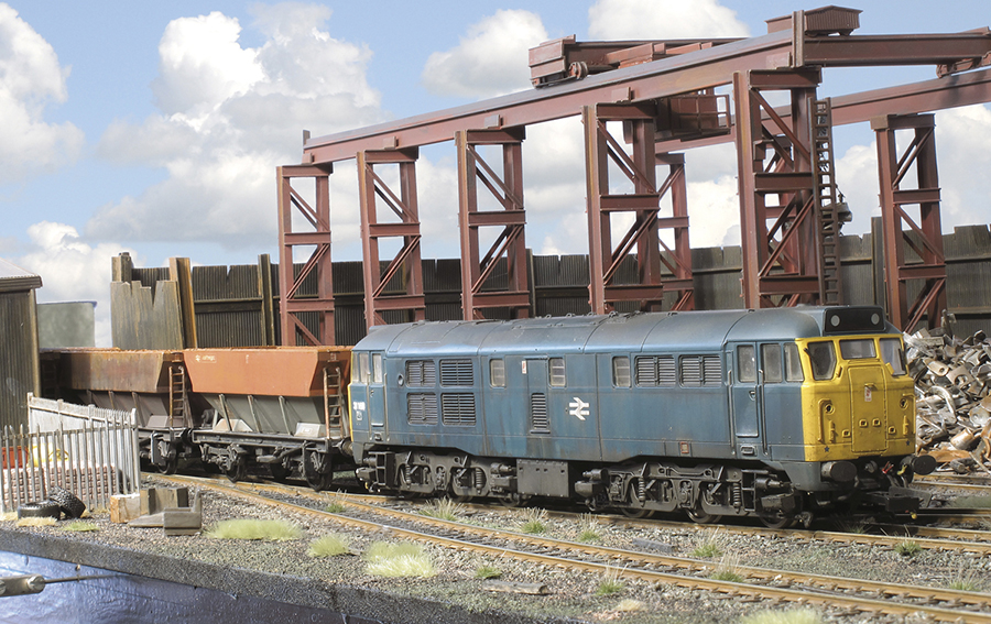 Albion Metals Class 31 HEA hoppers