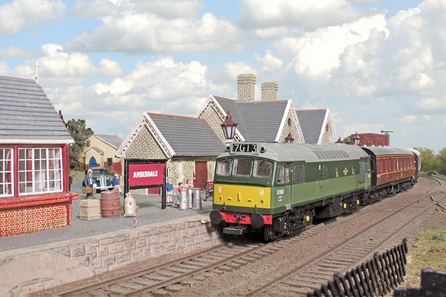 Amberdale station Hornby Skaledale signal box