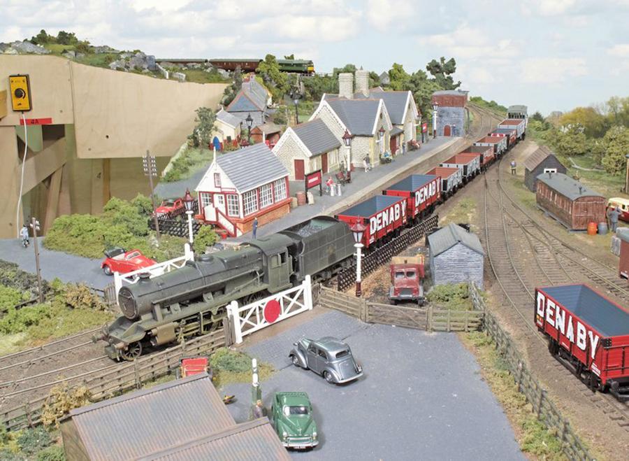 Amberdale OO gauge station building