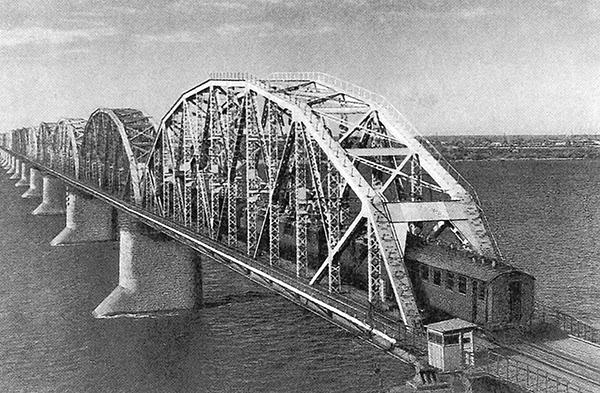 Amur Bridge 1916 JSC Russian railways