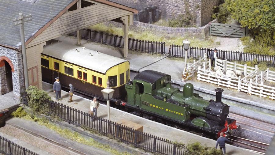 GWR Autocoach 0-4-2T locomotive