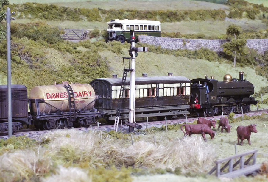 Ashburton GWR Saddletank 1506