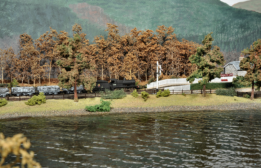 Bassenthwaite Lake model railway N gauge 4F
