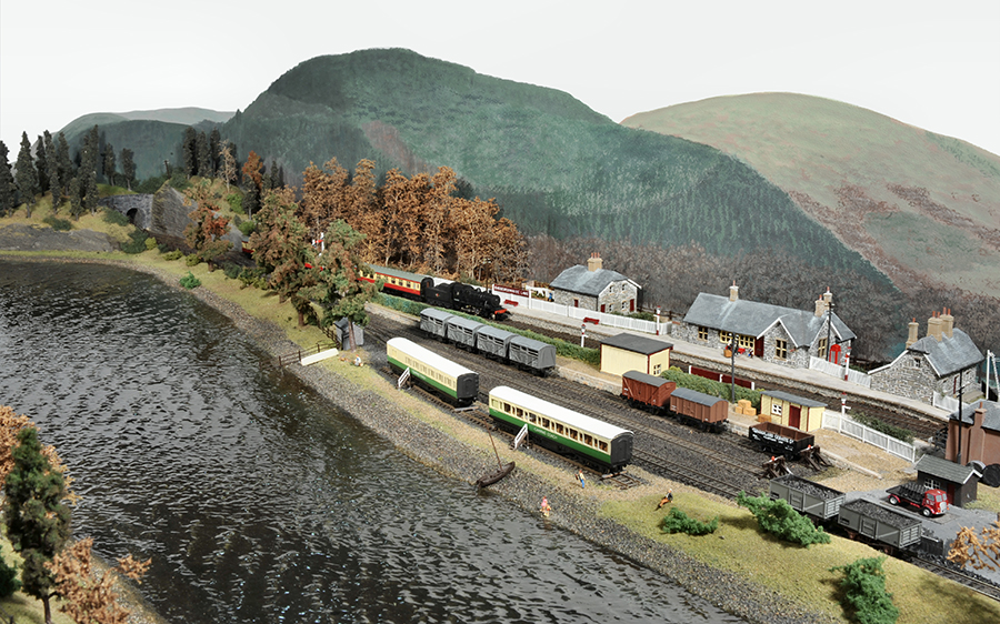 Bassenthwaite Lake layout Camping coaches