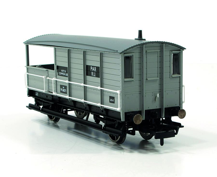 Hornby 20 Ton 'TOAD' Brakevan 00 gauge model railway accessories full view