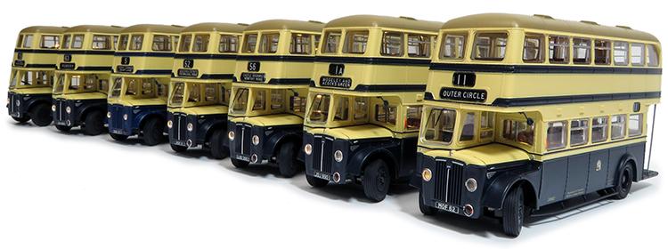 Guy Arab bus Rapido Trains UK