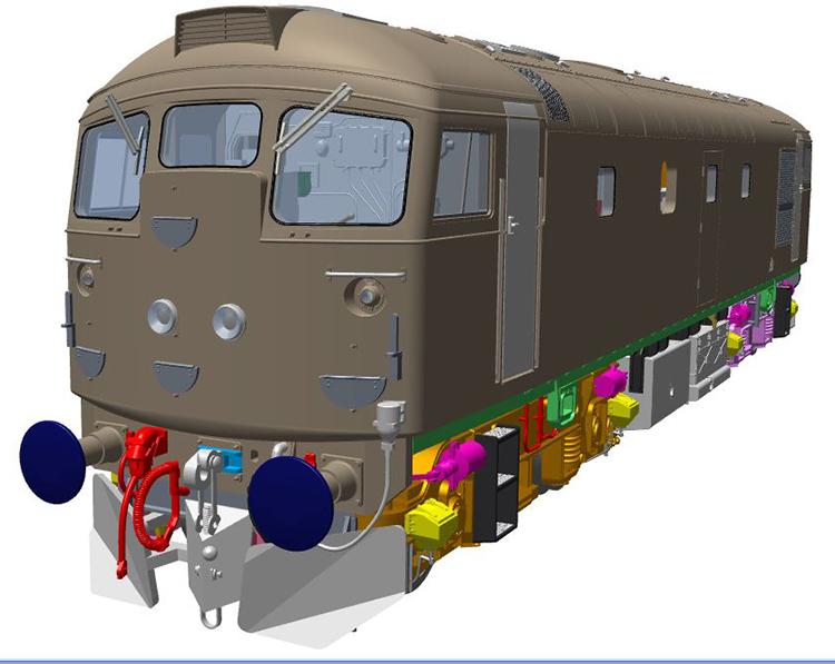 Heljan Class 26