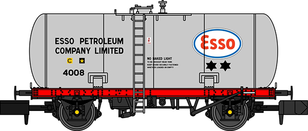 Esso Class A tank wagon revolution trains
