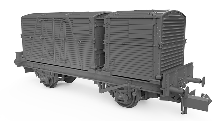 Rapido Trains 'Conflat P'