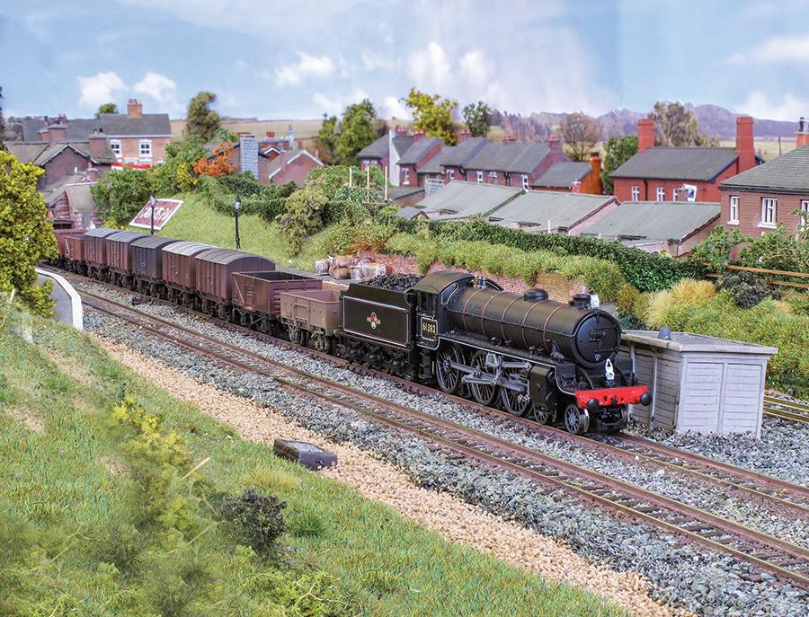 Croft Spa N gauge layout model railway
