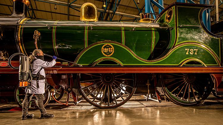 National Railway Museum reopening