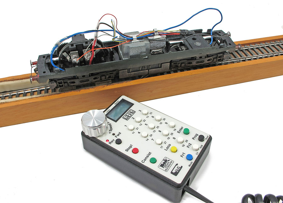 DCC controllers for model railways