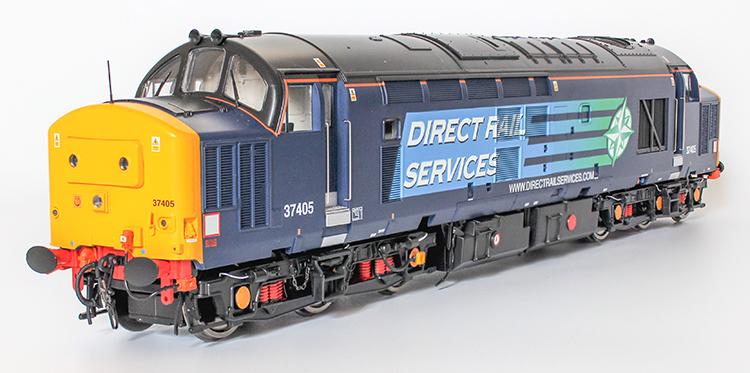 Revolution Trains Class 37 O gauge