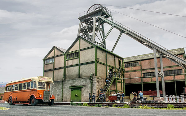 Kepier Colliery in OO gauge