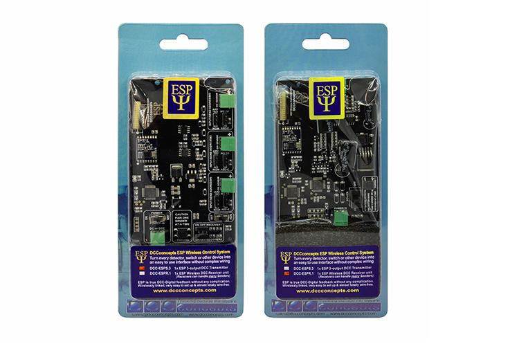 DCC Concepts ESP transmitter receiver