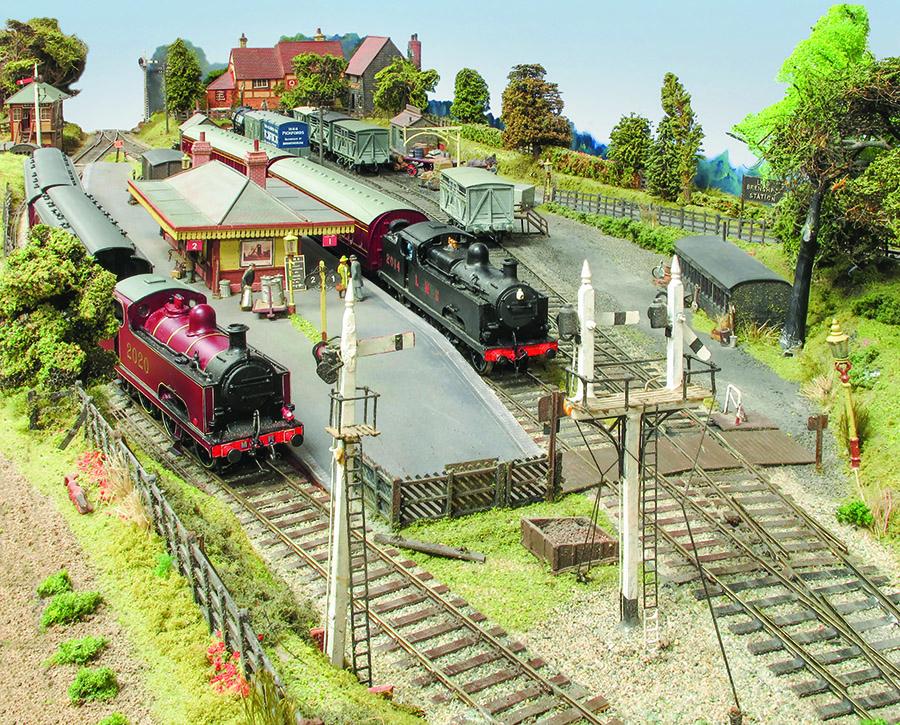 Broom Junction EM Gauge model railway Fowler 0-6-4T
