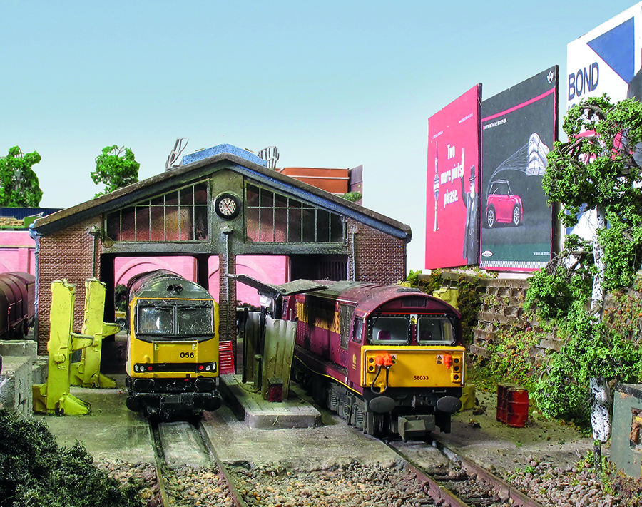 N Gauge model railway Caverswall Junction_5