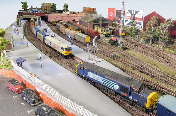 Caverswall Junction in N gauge