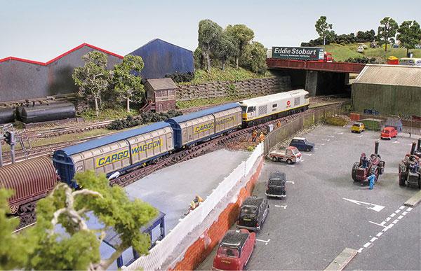 Caverswall Junction in N gauge