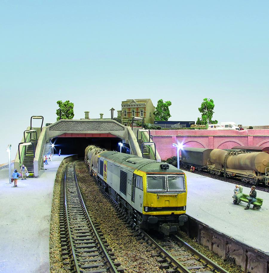 N Gauge model railway Caverswall Junction_2