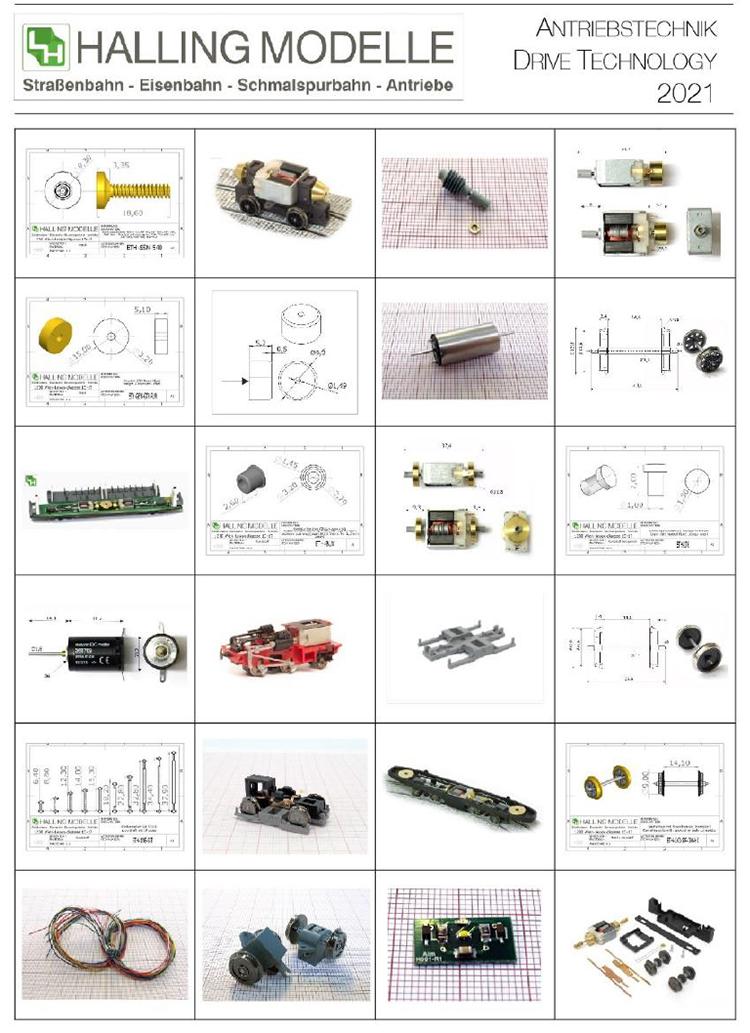 Ferro-Train drive train motors