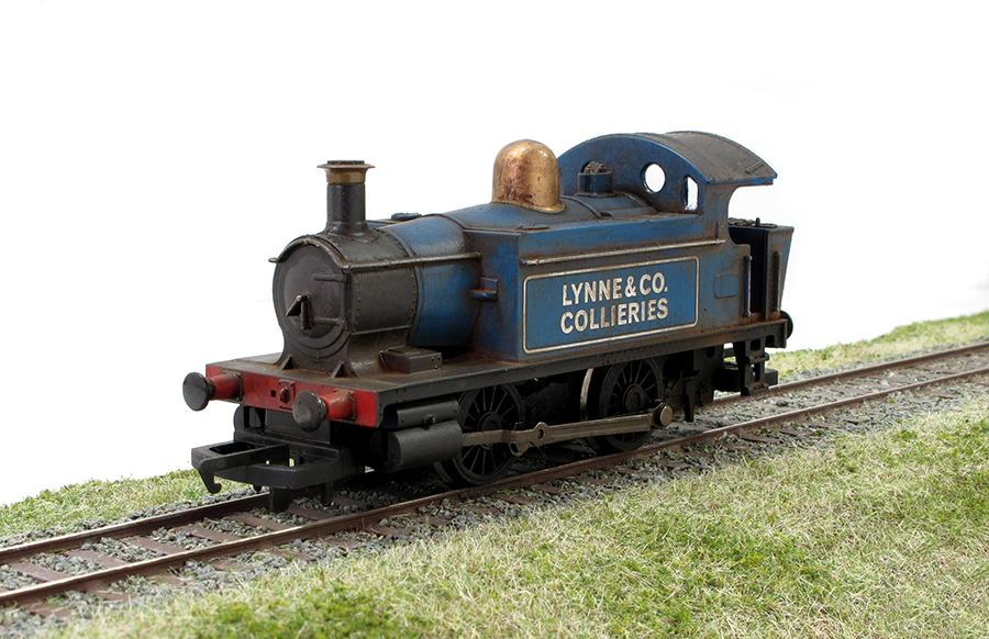 Model railway Hornby 0-4-0 weathering project
