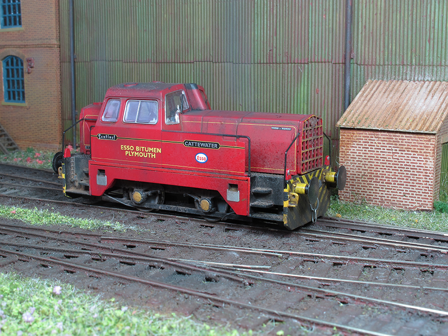 The Hornby Sentinel in all its glory