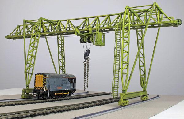 Kibri Wasel Gantry Crane
