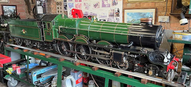 7.25in gauge King class locomotive