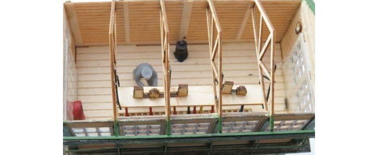 Osborns Models Great Eastern signal box OO gauge