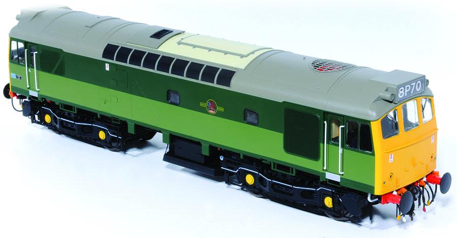 Heljan Class 25/3 review