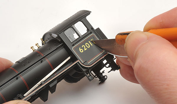 How to super-detail Hornby's K1
