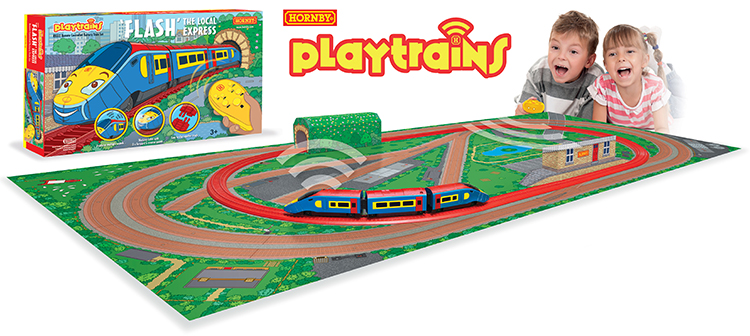 Hornby Playtrains Flash local express