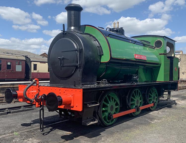 Hunslet 16in locomotive