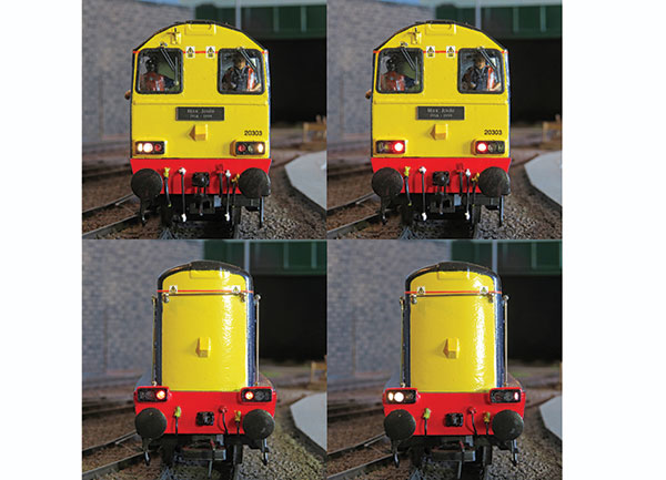 How to make a Class 20/3 from an RTR model