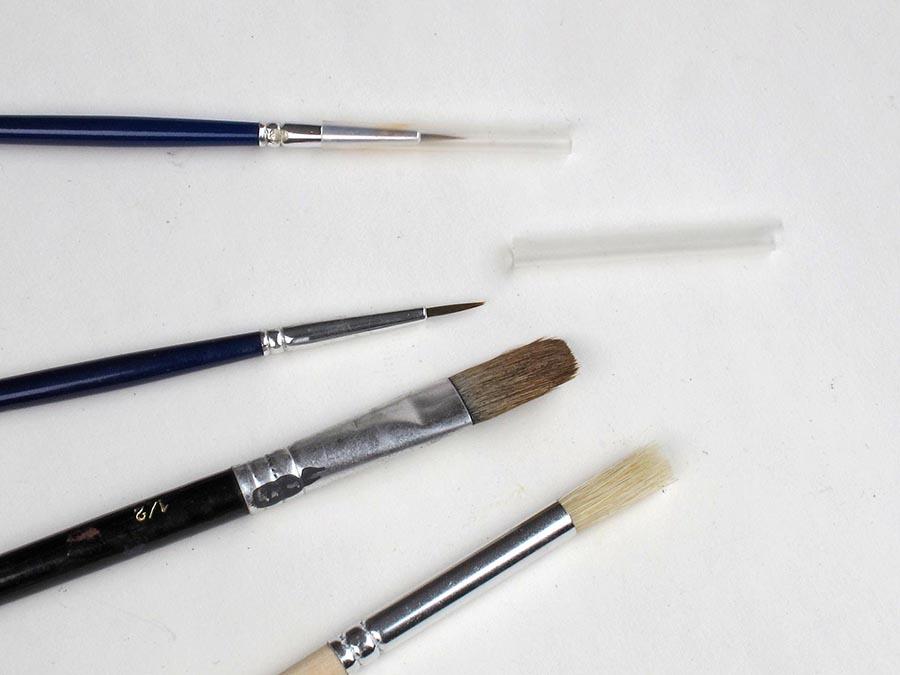 Model Railway Paint Brushes
