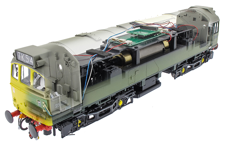 Heljan Class 25 The Model Centre