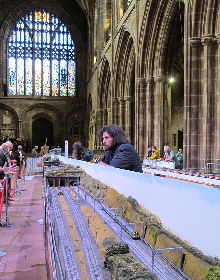 West Coast Mainline in Chester Cathedral.
