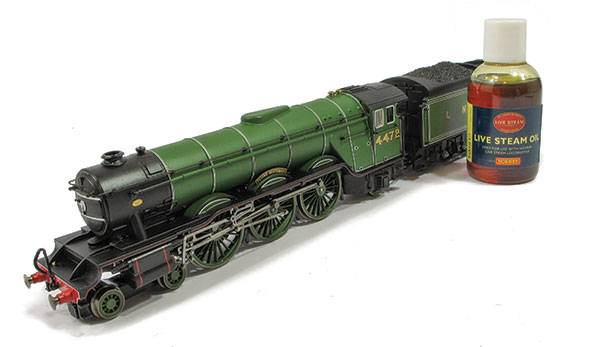 Hornby OO gauge live steam Flying Scotsman