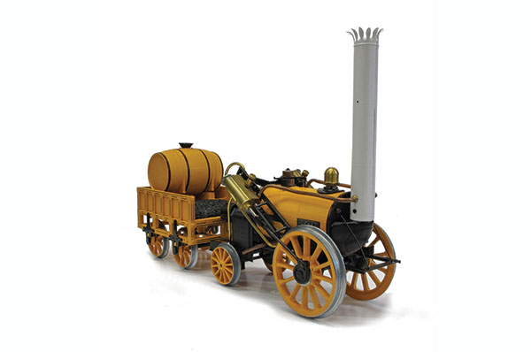 G100 – 3½ in gauge live steam Stephenson's Rocket