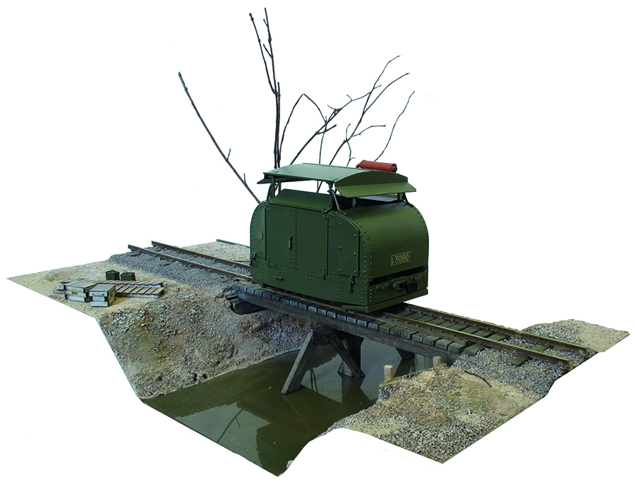 Modify a Tin Turtle railway modelling 009 finished
