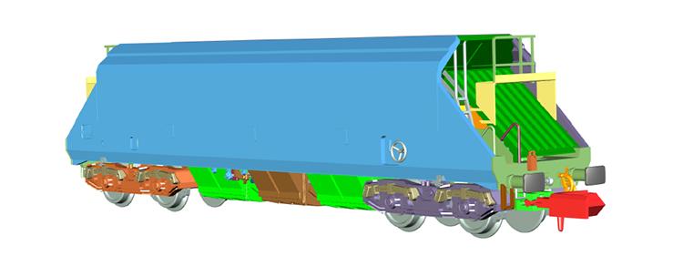Dapol O&K wagon