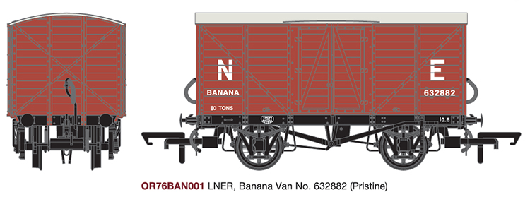 Oxford Rail 10T banana van