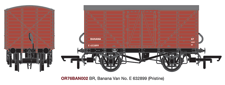 Oxford Rail banana van